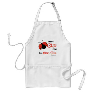 Don't Bug Me apron