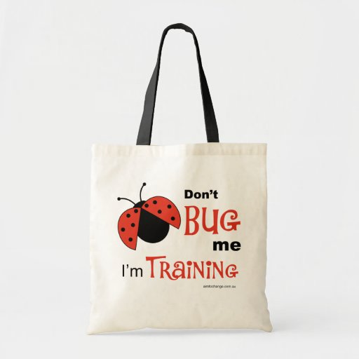 Don't Bug Me - tote Canvas Bags