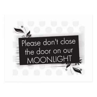 Don't Close the Door Postcard