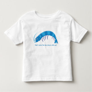 'Don't come the raw prawn with me!' T-shirts