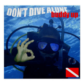 Don't Dive Alone Poster