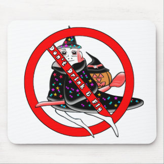 Don't Drink And Fly Mouse Pad