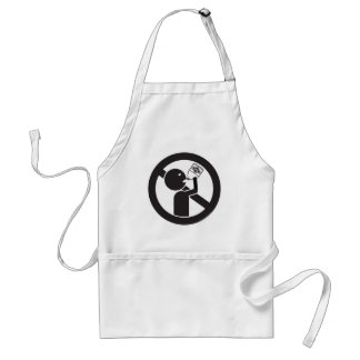 Don't Drink The Bleach Adult Apron