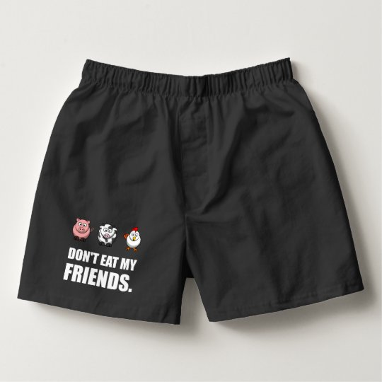 Dont Eat My Friends Boxers