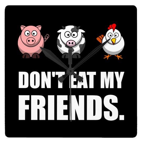 Dont Eat My Friends Clocks