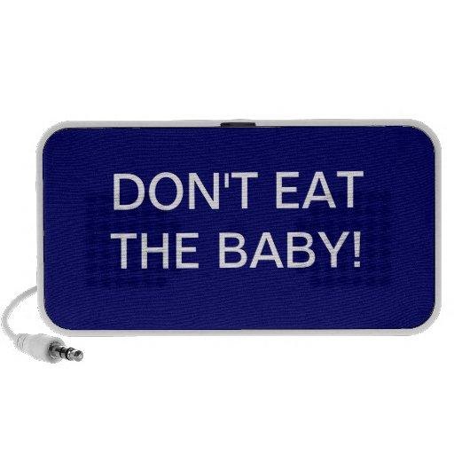 Don't Eat The Baby mini-speaker