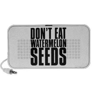 Don't Eat Watermelon Seeds Travelling Speaker