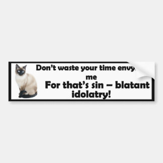 Don't Envy Me - Bumper Sticker