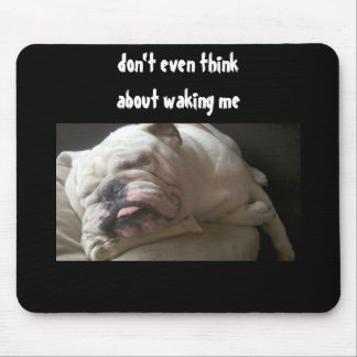 DONT EVEN THINK ABOUT IT MOUSEPAD