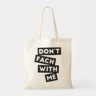 Don't fach with me blocks (light bag version)