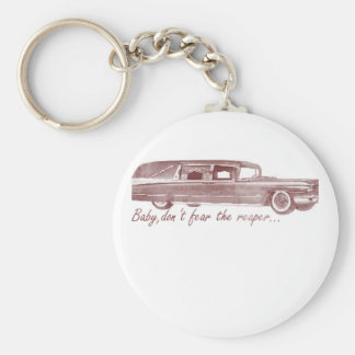 Don't fear the reaper Hearse Design Key Ring