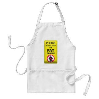 Don't Feed Fatty Apron