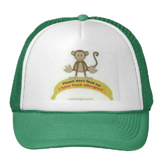 Don't feed me' Allergy Awareness hat