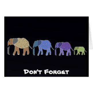 Don't Forget Card