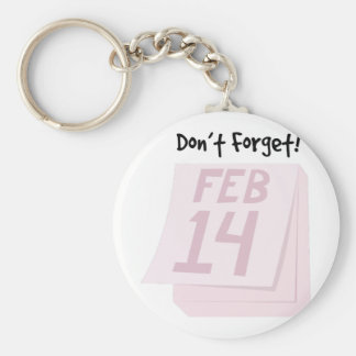 Dont Forget Keychain