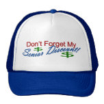 Don't Forget My Senior Discount Trucker Hats