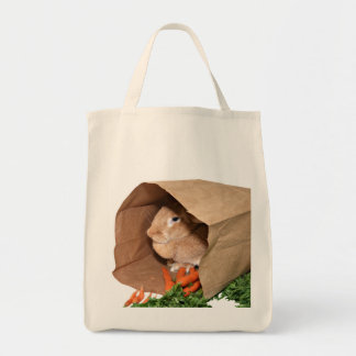 Don't forget the carrots grocery tote bag