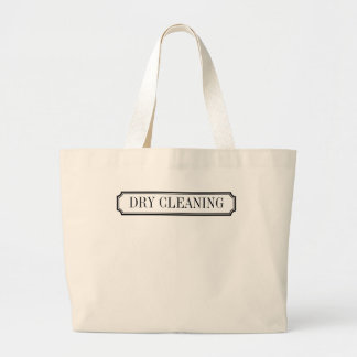 (Don't Forget the) Dry Cleaning Label Tote Bag