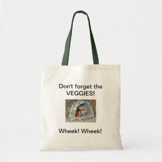 Don't forget the veggies Grocery Tote