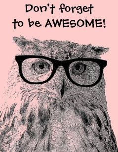 Owl Quotes | Owl Quotes Posters Photo Prints Zazzle Au