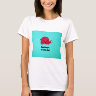 Don't forget your flu shot! T-Shirt