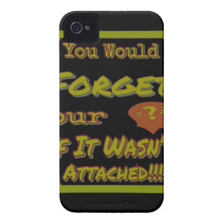 Dont Forget Your Head Green Case-Mate iPhone 4 Case