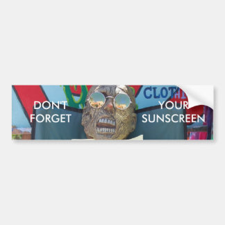 Don't Forget Your Sunscreen Bumper Sticker