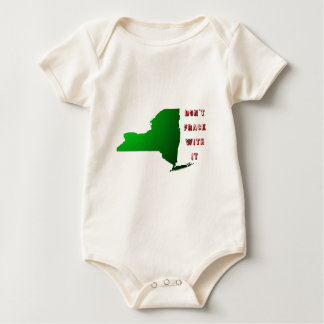Don't Frack With New York Baby Bodysuit