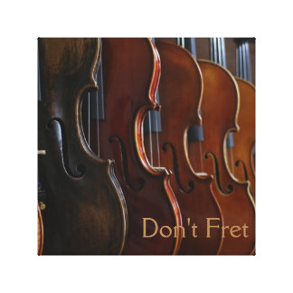 Don't Fret Canvas Print