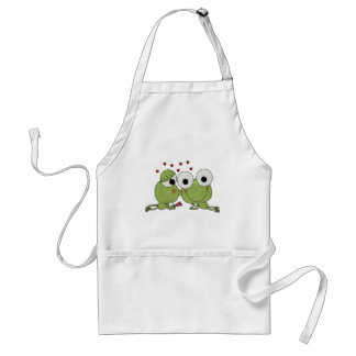 Don't Frog-et the Kiss Valentine Gifts Standard Apron