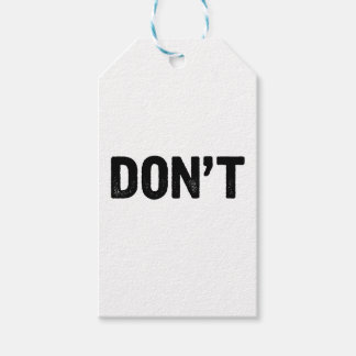 Don't Gift Tags
