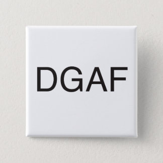 don't give a frak.ai 15 cm square badge