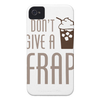 Don't Give A Frap Case-Mate iPhone 4 Cases