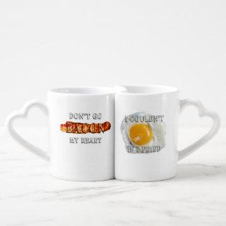 Don't Go Bacon My Heart, I Couldn't If I Fried Coffee Mug Set