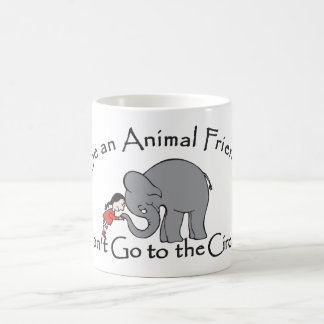 Don't Go to the Circus Basic White Mug