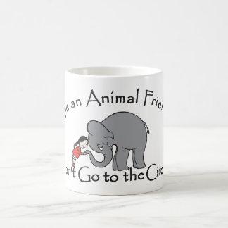Don't Go to the Circus Classic White Coffee Mug