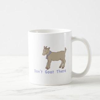 Dont Goat There Basic White Mug