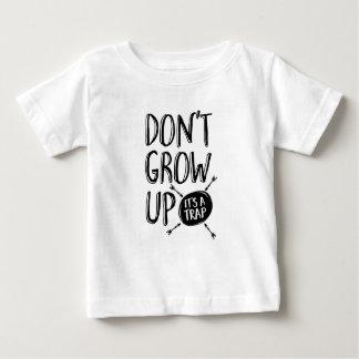 Dont grow up, it's a trap kids T-shirt