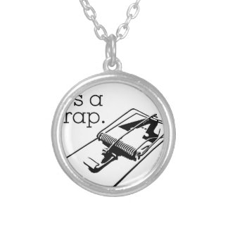 Don't Grow Up Silver Plated Necklace