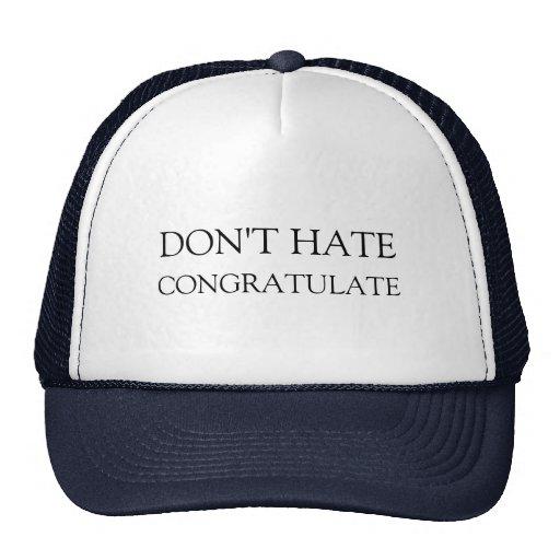 Don't hate trucker hat