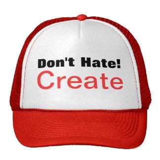Don't Hate! Create Trucker Hat