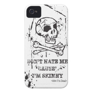 DON'T HATE ME CAUSE I'M SKINNY MAN iPhone 4 Case-Mate CASE