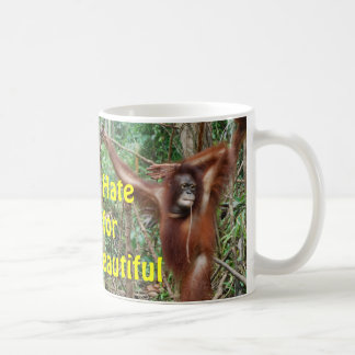 Don't Hate Me for Being Beautiful Redhead Coffee Mug