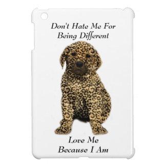 Don't Hate Me..Love Me! Puppy Dog Leopard Print iPad Mini Cases