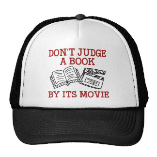 Don't Judge A Book By Its Movie Cap