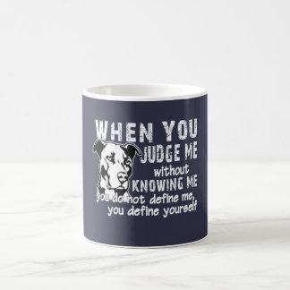 Don't Judge Me Coffee Mug