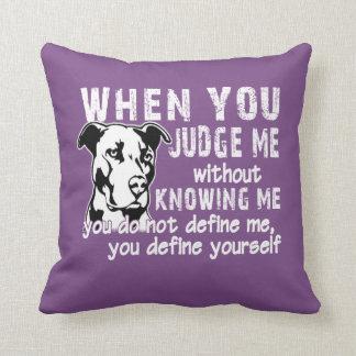Don't Judge Me Cushion