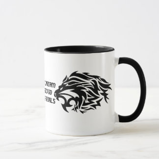 Dont Just Dream Black 11 oz Ringer Mug
