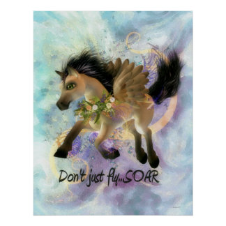 Don't Just Fly SOAR Poster
