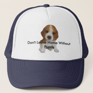 Don't Leave Home Without Puppy Hat